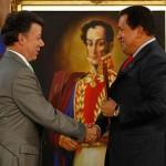 Los presidentes Juan Manuel Santos y Hugo Chávez Frías relanzan las relaciones bilaterales
