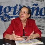 Entrevista a la Diputada María León 27-09-2011