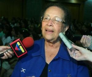 Así lo aseveró la diputada María León, quien elogió la gestión de Gobierno del presidente Hugo Chávez, que prioriza la justicia social y la independencia nacional