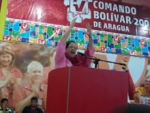Acto de Juramentación de Brigadistas por la Patria, acompañando a los candidatos AN PSUV Aragua.