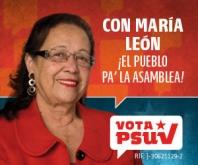 MARÍA LEÓN PA'LA ASAMBLEA