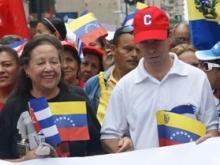 María León y Rogelio Polanco
