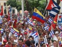 Marcha y Concentración Solidaridad con los 5 Héroos Cubanos