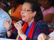 María León Solidaridad con Honduras